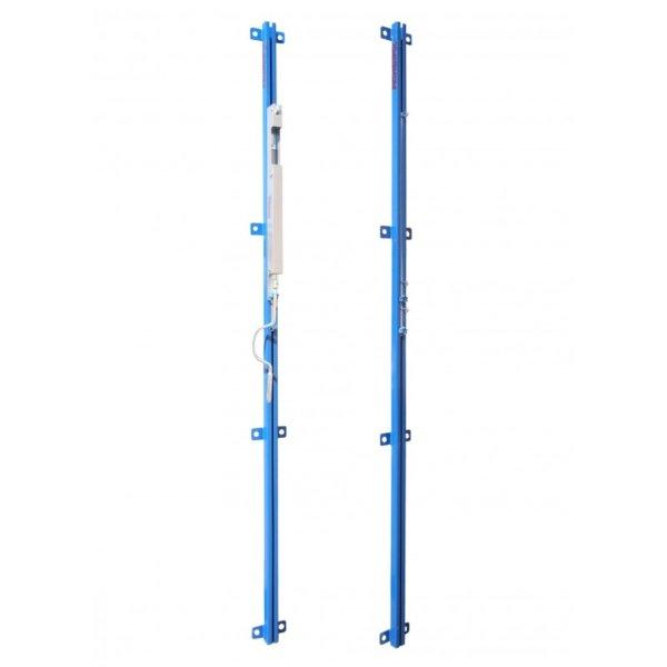 set-of-wall-mounted-steel-rails